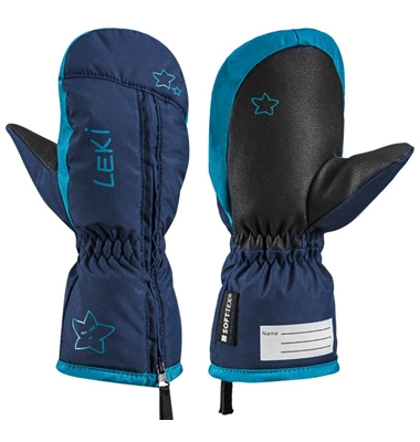 little snow mitt navy