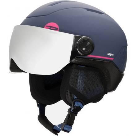 rossignol whoopee visor impacts 19 20 kids ski helmet 2e