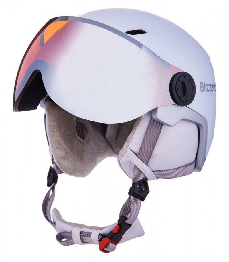 viva double visor white orange 1