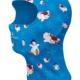 škleb sněhulák modrý