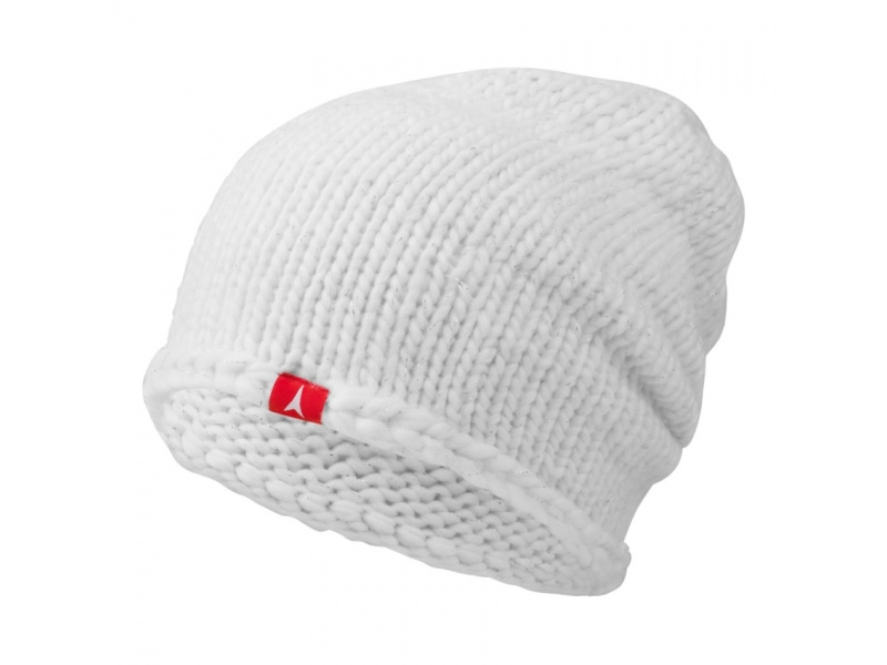 damska cepice atomic amt basket weave white