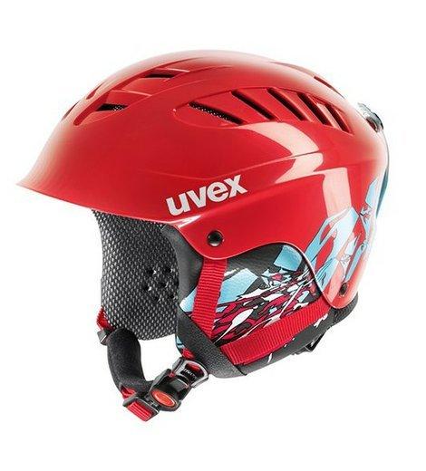 uvex x ride motion junior red blue