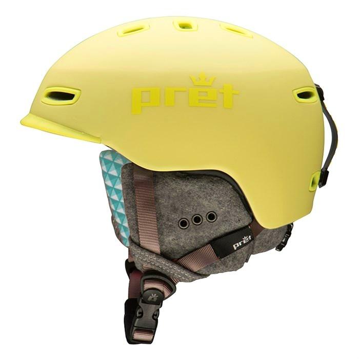 lyric helmet women s rubber canary