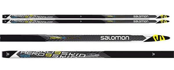 salomon aero 9 skin soft medium xc skis all 16 zoom