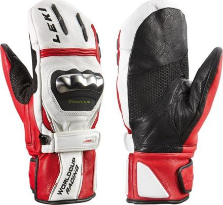 wc racing titanium s mitten red