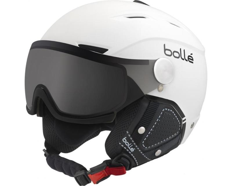 backline visor premium white