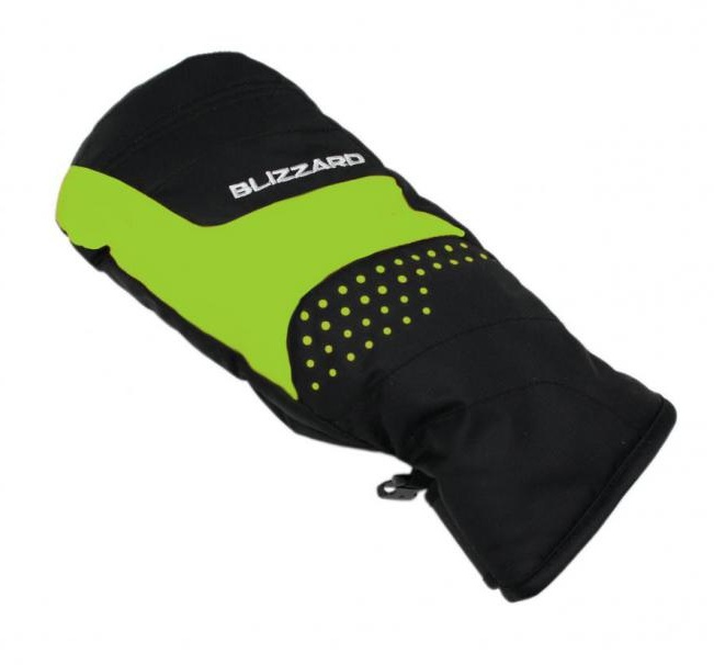mitten junior green