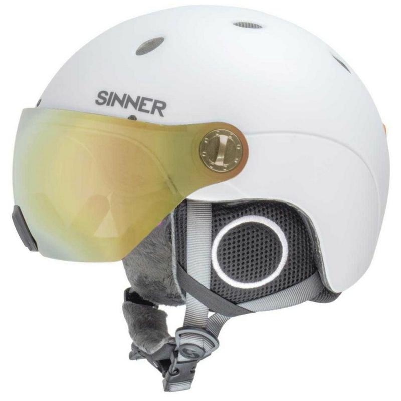 sinner titan visor white